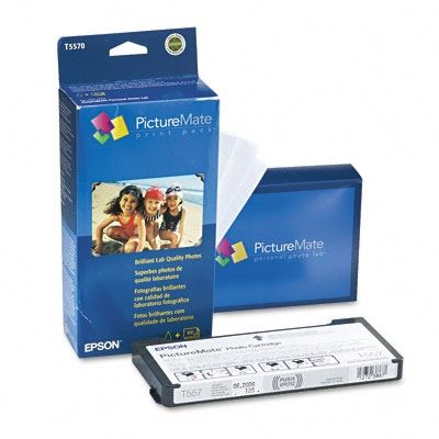 Picture of EPSON PictureMate Print Combo Pack 4x6