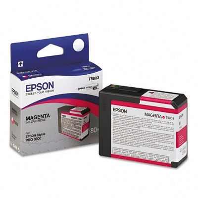 Picture of EPSON Stylus Pro K3 UltraChrome Ink Cartridges for 3800 and 3880 - Magenta (80 mL)