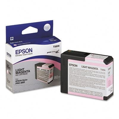 Picture of EPSON Stylus Pro K3 UltraChrome Ink Cartridges for 3800 and 3880 - Light Magenta (80 mL)