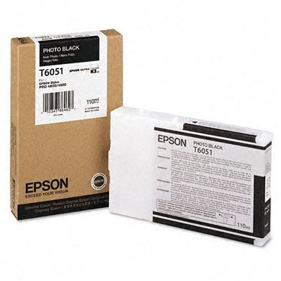 Picture of EPSON Stylus Pro K3 UltraChrome Ink Cartridges for 4800/4880 (110 mL)