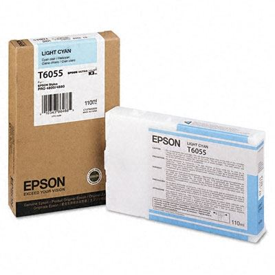 Picture of EPSON Stylus Pro K3 UltraChrome Ink Cartridges for 4800/4880 - Light Cyan (110 mL)