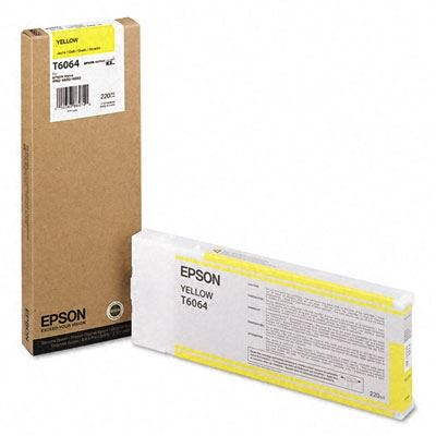 Picture of EPSON Stylus Pro K3 UltraChrome Ink Cartridges for 4800/4880 - Yellow (220 mL)
