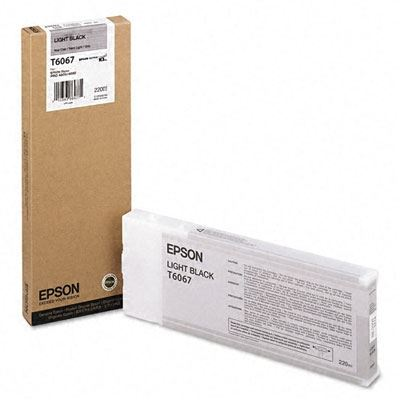 Picture of EPSON Stylus Pro K3 UltraChrome Ink Cartridges for 4800/4880 - Light Black (220 mL)