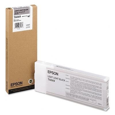 Picture of EPSON Stylus Pro K3 UltraChrome Ink Cartridges for 4800/4880 - Light Light Black (220 mL)