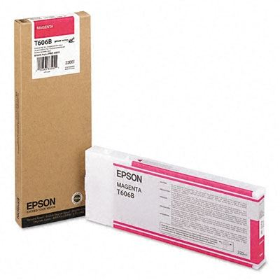Picture of EPSON Stylus Pro K3 UltraChrome Ink Cartridges for 4800 Only - Magenta (220 mL)