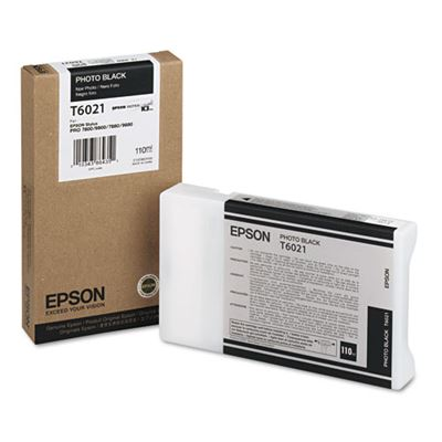 Picture of EPSON Stylus Pro K3 UltraChrome Ink for 7800/7880/9800/9880 - Photo Black (110 mL)