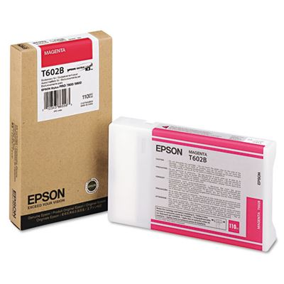 Picture of EPSON 7800/9800 Magenta K3 UltraChrome Ink Cartridge - 110 mL