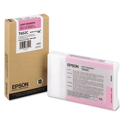 Picture of EPSON 7800/9800 Lt Magenta K3 UltraChrome Ink Cartridge - 110 mL