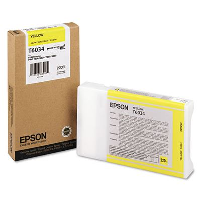 Picture of EPSON 7800/7880/9800/9880 Yellow K3 UltraChrome Ink - 220 mL