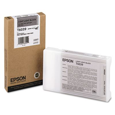 Picture of EPSON Stylus Pro K3 UltraChrome Ink Cartridges for 7800/7880/9800/9880 - Light Light Black (220 mL)