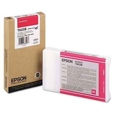 Picture of EPSON Stylus Pro K3 UltraChrome Ink Cartridges for 7800/7880/9800/9880 - Magenta (220 mL)