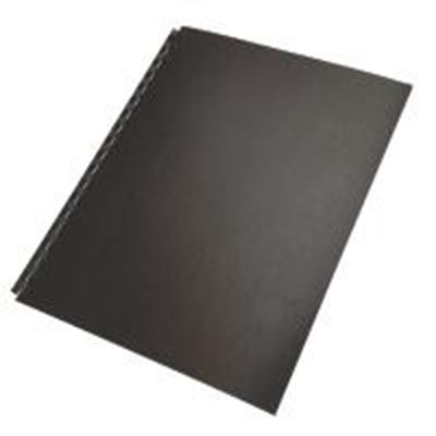 Picture of GBC Eco Series Binding Covers 11in x 8.5in No Window- Black
