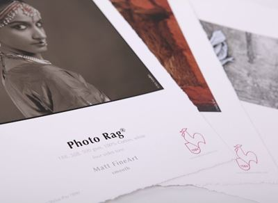 Picture of Hahnemühle  Photo Rag® 308 g Deckle Edge- 17in x 22in
