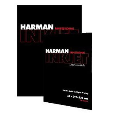 Picture of Harman Gloss Art Fibre Warmtone 300gsm by Hahnemühle- 8.5in x 11in