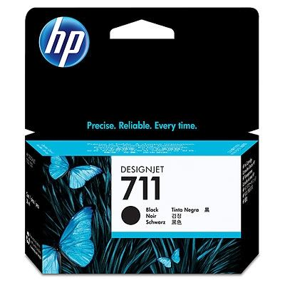 Picture of HP 711 Ink Cartridges for Designjet ePrinter- Black (38mL)