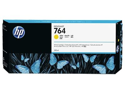 Picture of HP 764 Ink for Designjet T3500- Yellow