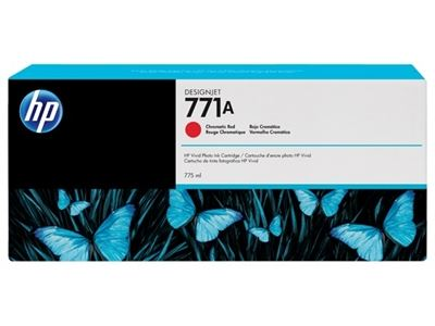 Picture of HP 771 Ink Cartridges for Designjet Z6200 w/Vivid Photo Ink- Chromatic Red