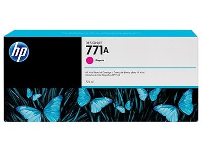 Picture of HP 771 Ink Cartridges for Designjet Z6200 w/Vivid Photo Ink- Magenta