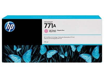 Picture of HP 771 Ink Cartridges for Designjet Z6200 w/Vivid Photo Ink- Light Magenta
