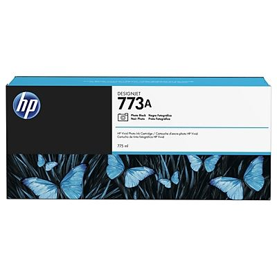 Picture of HP 773A Photo Black Ink Cartridge for Designjet Z6600/Z6800