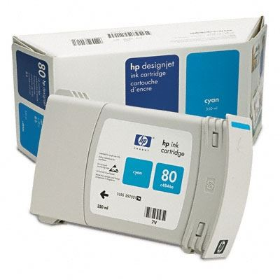 Picture of HP 80 Ink Cartridges for Designjet 1000 Series
