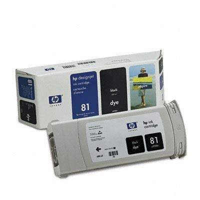 Picture of HP 81 Dye Ink Cartridges for Designjet 5000/5500