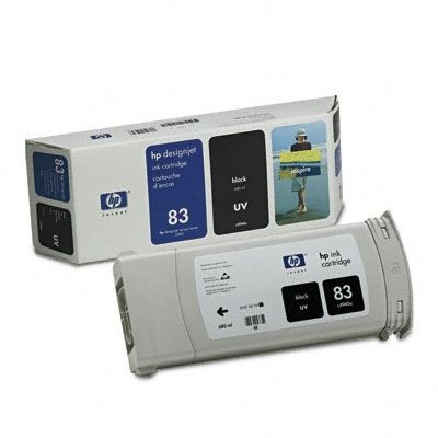 Picture of HP 83 UV Ink Cartridge for  Designjet 5000/5500