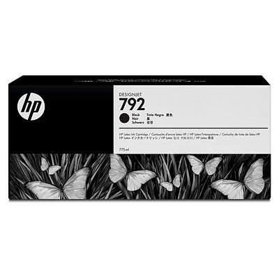 Picture of HP 792 Ink Cartridges for HP Latex 210/260/280 Printers- Black