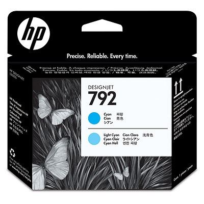 Picture of HP 792 Printheads for HP Latex 210/260/280 Printers - Cyan/Light Cyan