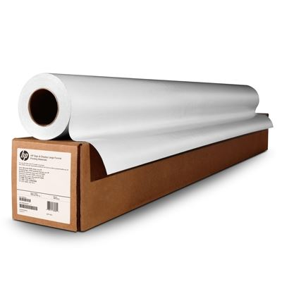 Picture of HP White Satin Poster Paper - 54in x 200ft