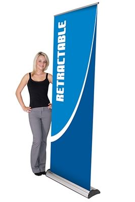 Picture of LexJet Imagine Retractable Banner Stand with Inter-Changeable Cartridge