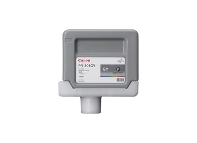 Picture of Canon PFI-301 Ink for imagePROGRAF 9000/8000/9000S/8000S - Gray (330mL)