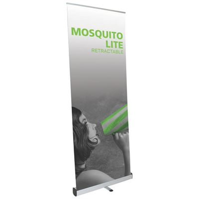 Picture of LexJet Mosquito Lite Retractable Banner Stand - 31.5 in