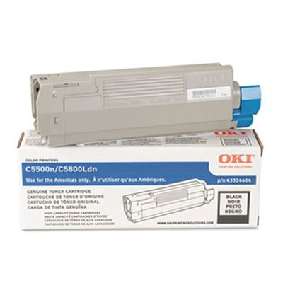 Picture of OKI High-Yield Toner Cartridge for 5500 through 5800 Series (Type C8)