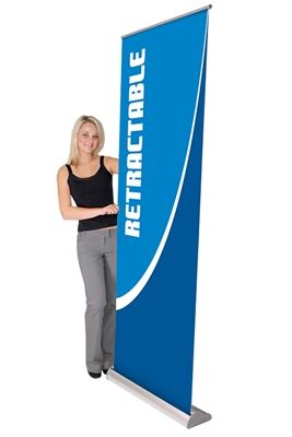 Picture of LexJet Orient Retractable Banner Stand- 31.5in Silver