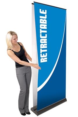Picture of LexJet Orient Retractable Banner Stand- 31.5in Double Sided