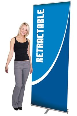 Picture of LexJet Pacific 800 Retractable Banner Stand - 31.5in