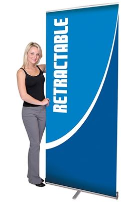Picture of LexJet Pacific Retractable Banner Stand- 39.25in