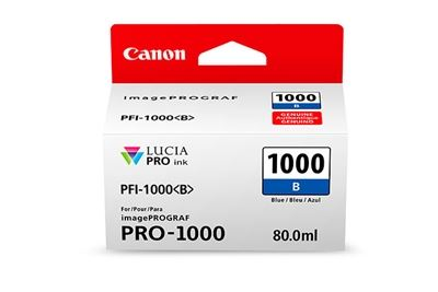 Picture of Canon imagePROGRAF PRO-1000 Ink - Blue (80mL)