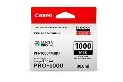 Picture of Canon imagePROGRAF PRO-1000 Ink - Matte Black (80mL)
