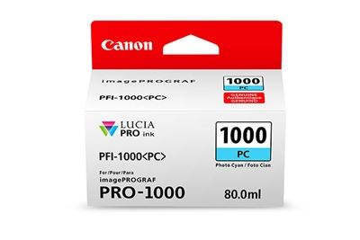 Picture of Canon imagePROGRAF PRO-1000 Ink - Photo Cyan (80mL)