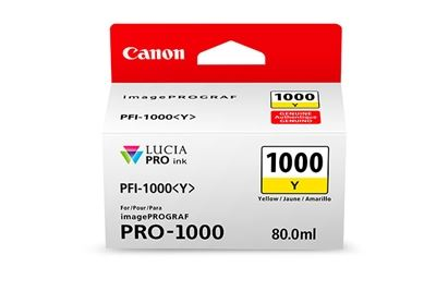Picture of Canon imagePROGRAF PRO-1000 Ink - Yellow (80mL)