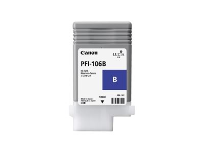 Picture of Canon PFI-106 Ink for imagePROGRAF iPF6300/6400/6350/6450 - Blue (130 mL)