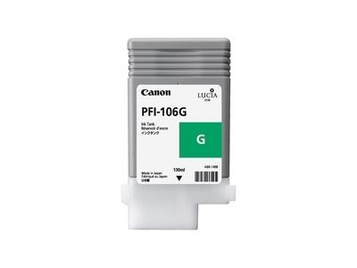 Picture of Canon imagePROGRAF iPF6300/6400/6350/6450 Ink- Green (130 mL)