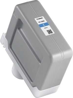 Picture of Canon PFI-1300 Ink for imagePROGRAF PRO-2000/4000/4000S/6000S - Cyan (330 mL)