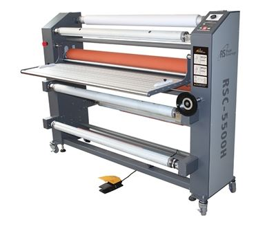 "Picture of Royal Sovereign 55"" Heat Assist Top Roller Wide Format Roll Laminator"