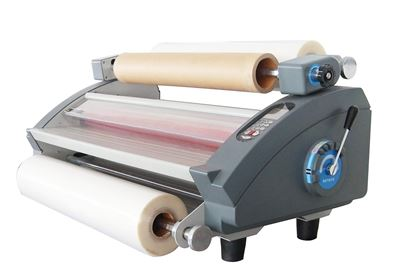 "Picture of Royal Sovereign 27"" Thermal and Cold Pressure Sensitive Roll Laminator"