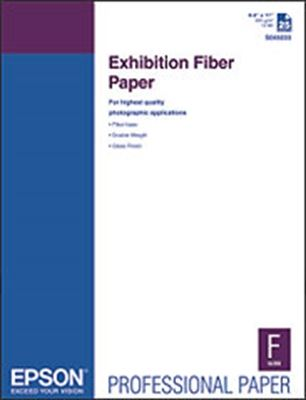 Picture of EPSON Exhibition Fiber Paper- 8.5in x 11in
