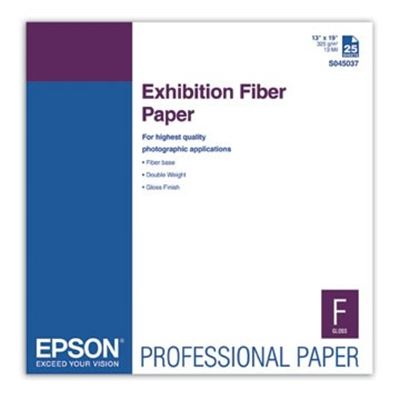Picture of EPSON Exhibition Fiber Paper- 13in x 19in