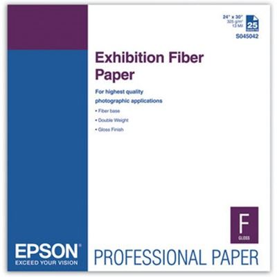 Picture of EPSON Exhibition Fiber Paper- 24in x 30in